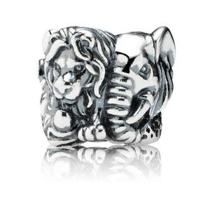 Pandora Safari Animals Big 5 Charm, Authentic